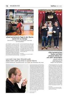 Olio Costa in der Berliner EssPress