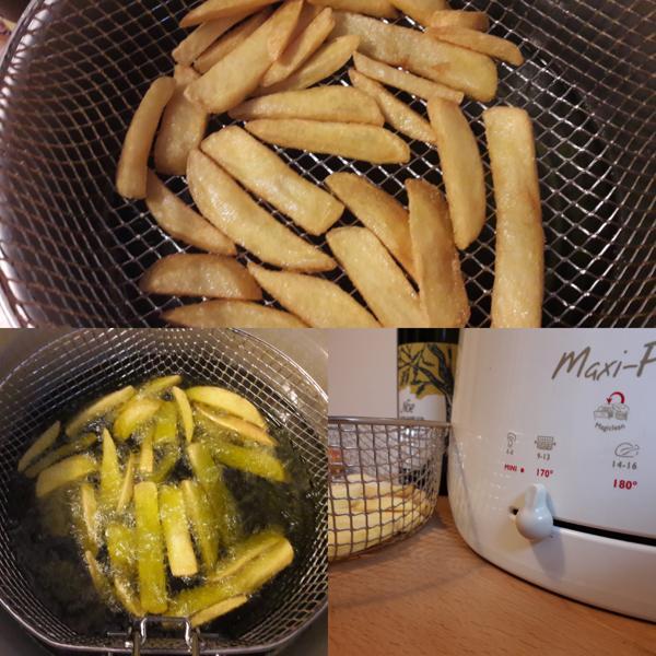 Frittieren mit olivenoel