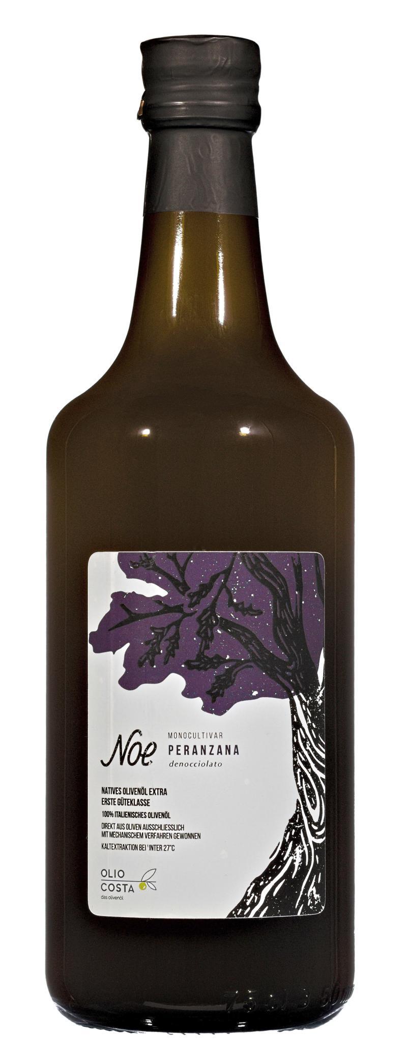 Noe peranzana natives olivenoel extra von olio costa