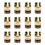 Compact taggiasca oliven in salzlake sparpaket 12 glaeser